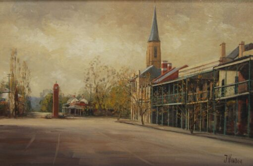 morpeth art gallery, hunter valley, newcastle, nsw, investment, fine, original, artwork, collector, artist, artists, investment, oil, palette knife, pallete knives, knife, gulgong, mudgee, bathrust, sofala, hill end, berrima, southern highlands, braidwood, vineyards, houses, to scale, australian art gifts, mudgee, placemats, coasters, cinnamon, hale imports