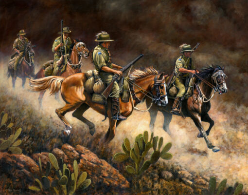 morpeth art gallery, hunter valley, newcastle, nsw, investment art, fine art, original, artwork, collector, investment, artist, military, equine, acrylic, oil, watercolour, board, stretched canvas, australian light horse, military heritage, giclee reproductions, the charge, military, great war