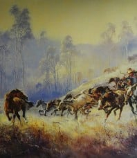 Clancy of the Overflow Limited Edition Print by d'Arcy W Doyle