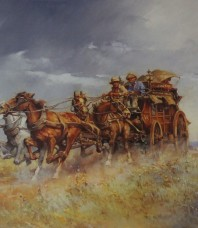 Cobb & Co Limited Edition Print by d'Arcy W. Doyle