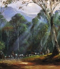 On the Spur Limited Edition Print by Kevin Best OAM