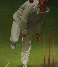 Shane Warne Limited Editon Print by d'Arcy W. Doyle