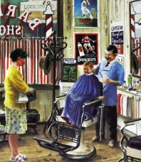 Short, Back and Sides Limited Edition print by Gordon Hanley