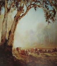 Sunrise Muster Limited Edition Print by Kevin Best OAM