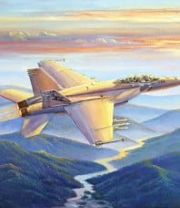 Sunset Sortie Giclee Reproduction by John Bradley