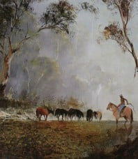 The Man from Snowy River Open Edition Print by Kevin Best OAM