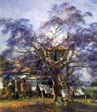 The Treehouse Limited Edition Print by D'Arcy Doyle