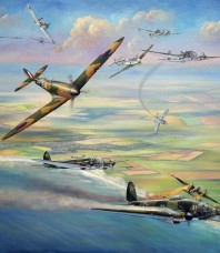 Turning the Tide Battle Of Britain by John Bradley Giclee