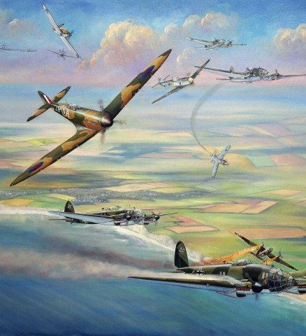 the battle of britain a turning Thesis let us therefore brace ourselves to our duties, and so bear ourselves that, if the british empire and its commonwealth lasts for a thousand years, men will still say, 'this was their finest hour.