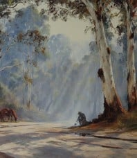 Wet Firewood Limited Edition Print by Kevin Best OAM