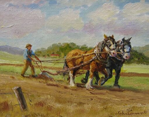 morpeth art gallery, hunter valley, newcastle, nsw, investment art, fine art, original, artwork, collector, investment, artist, portrait, oil, stretched canvas,billy with the boys, john cornwell, draught horses, canvas board, wildlife, landscape, acrylic, artists