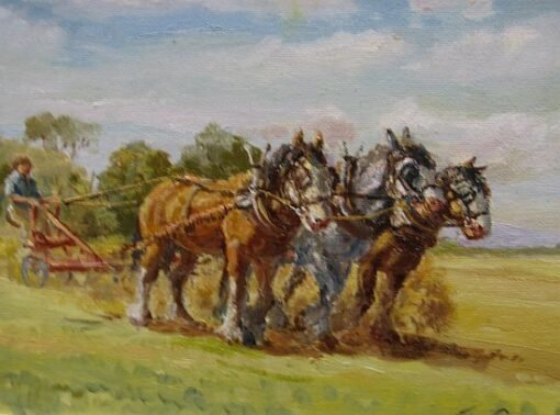 morpeth art gallery, hunter valley, newcastle, nsw, investment art, fine art, original, artwork, collector, investment, artist, portrait, oil, stretched canvas, percy with the disc plough, john cornwell, canvas board, wildlife, landscape, acrylic, artists