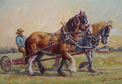 Morpeth art gallery, hunter valley, newcastle, nsw, investment art, fine art, original, artwork, collector, investment, artist, portrait, oil, stretched canvas, john cornwell, bringing home the rake, canvas board, wildlife, landscape, acrylic, artists