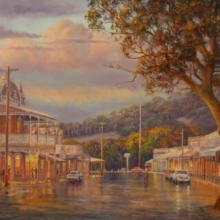 morpeth art gallery, hunter valley, newcastle, nsw, investment, fine, original, artwork, collector, artist, artists, investment, oil, stretched canvas, canvas board, blue mountains, megalong valley, barrington, paterson, vacy, wallabadah, murrurundi, placemats, coasters, cinnamon, hale imports, australian art gifts, journey through times, blue mountains, grose valley, macleay valley, Nambucca, night scenes, Jamison valley, cox's river, Gloucester, werris creek blackheath, turon river, Sofala, journey through time, rainy evening, maldon, blue mountains magic, masterclass, australian art gifts