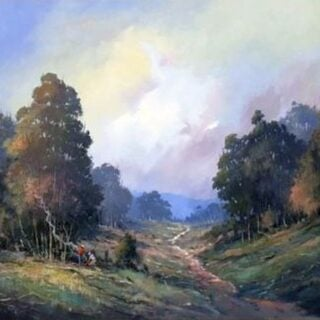 morpeth art gallery, hunter valley, newcastle, nsw, investment art, fine art, original, artwork, collector, investment, artist, oil, board, william freeman, bill, minmi, karuah, landscape, seascape, icon of the hunter, three chooks, billy time, sir william dobell, society of hunter valley artists