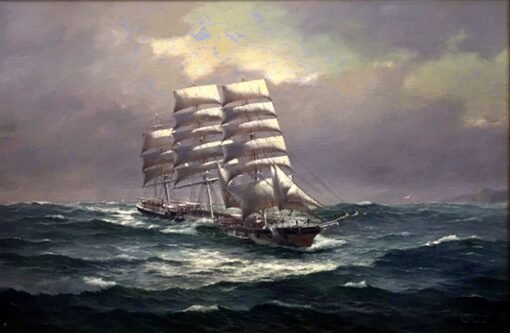 morpeth art gallery, hunter valley, newcastle, nsw, investment art, fine art, original, artwork, collector, investment, artist, oil, watercolour, nautical, seascape, hmas cerebus, cerberus, stamp, australia post,barque, james craig, clippers, clipper, tea clipper, tea clippers,sir hubery wilkins. fritz, royal arts society, australian institute of history and art, society of marine artists, cape horn, james baines, ss loongana, ship, gladbrook, patrianc, sophocles, first fleet, port Jackson, leander, taeping, schooner, thermopylae, cutty sark, royal arts society, ship sophocles, marine, navy, australian navy, royal, australian art gifts