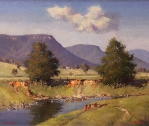 morpeth art gallery, hunter valley, newcastle, nsw, investment art, fine art, original, artwork, collector, investment, artist, oil, sofala, kangaroo valley, bellingen, gloucester, macleay valley, hill end, board, stretched canvas, landscape, seascape, kangaroo river, figurative, clouds, cloud, australian art gifts,