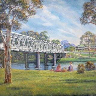 morpeth art gallery, hunter valley, newcastle, nsw, investment, fine, original, artwork, collector, artist, artists, investment, oil, stretched canvas, canvas board, blue mountains, megalong valley, barrington, paterson, vacy, wallabadah, murrurundi, placemats, coasters, cinnamon, hale imports, australian art gifts, journey through times, blue mountains, grose valley, macleay valley, Nambucca, night scenes, Jamison valley, cox's river, Gloucester, werris creek blackheath, turon river, Sofala, journey through time, historic morpeth bridge, blue mountains magic, masterclass, australian art gifts