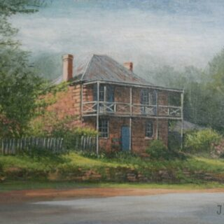 morpeth art gallery, hunter valley, newcastle, nsw, investment, fine, original, artwork, collector, artist, artists, investment, oil, palette knife, pallete knives, knife, gulgong, mudgee, bathrust, sofala, hill end, berrima, southern highlands, braidwood, vineyards, houses, to scale, australian art gifts, bellevue house, berrima, placemats, coasters, cinnamon, hale imports
