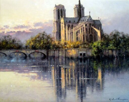 morpeth art gallery, hunter valley, newcastle, nsw, investment art, fine art, original, artwork, collector, investment, artist, oil, board, stretched canvas, new york, paris, begium, linen, london, costwold, sydney, southern highlands, berrima, three colours, romantic, england, europe, european, notre dame, river seine, providence, rue, crocodile hunter,notre dame reflections on river seine, giclee reproductions, australian art gifts