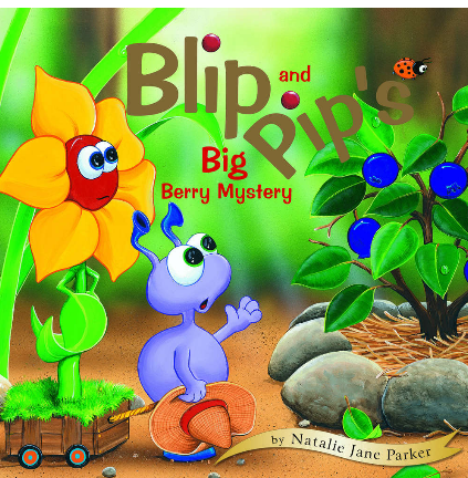 Book - Blip and Pip and the Big Berry Mystery -