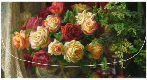 Ann Morton - Autumn Harvest Velour Glasses Case -