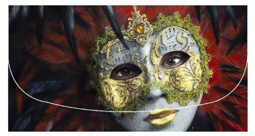 Gordon Hanley - Masquerade Velour Glasses Case -