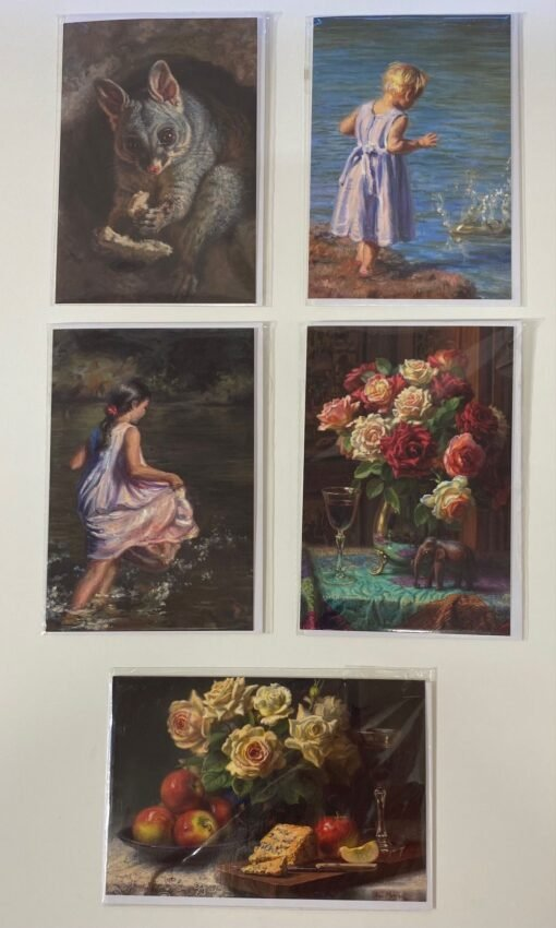 Greeting Cards by Ann Morton Set 5 -