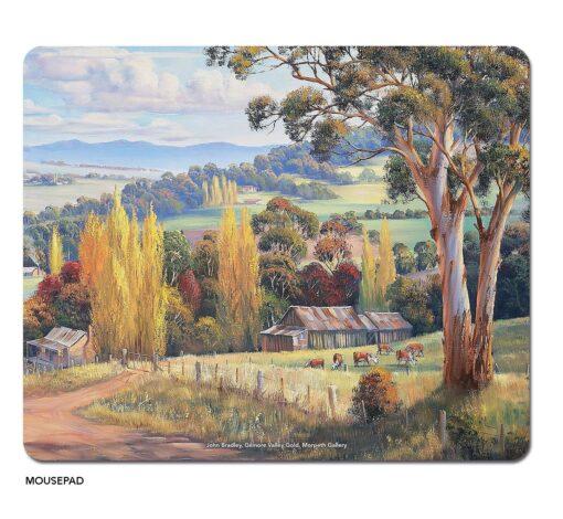 John Bradley - Gilmour Valley Gold Microfibre Mouse Pad -