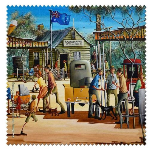 Max Mannix - The Old Home Town Microfibre Cloth -