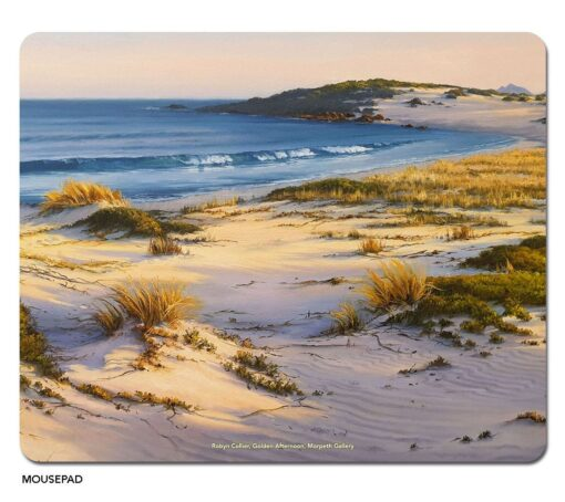 Robyn Collier - Golden Afternoon Microfibre Mouse Pad -