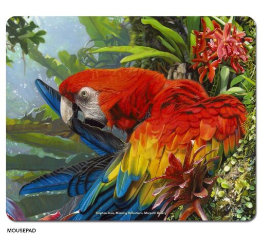 Stephen Jesic Morning Reflections - Microfibre Mouse Pad -