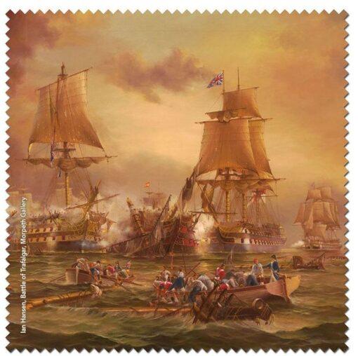 Ian Hansen - Battle of Trafalgar Microfibre Cloth -