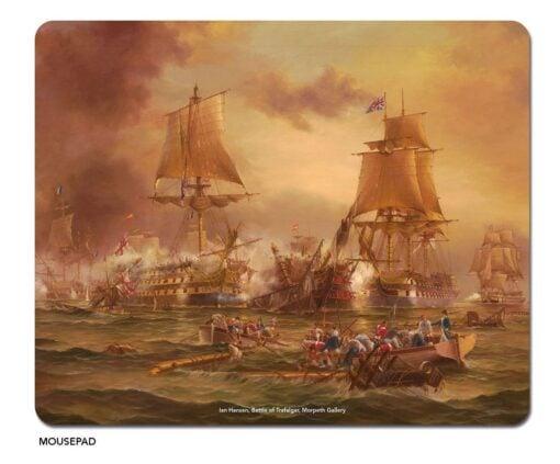 Ian Hansen - Battle of Trafalgar Microfibre Mouse Pad -