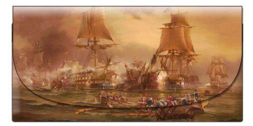 Ian Hansen - Battle of Trafalgar Velour Glasses Case -