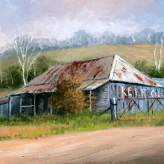 morpeth art gallery, hunter valley, newcastle, nsw, investment, fine, original, artwork, collector, artist, artists, investment, oil, palette knife, pallete knives, knife, gulgong, mudgee, bathrust, sofala, hill end, berrima, southern highlands, braidwood, vineyards, houses, to scale, australian art gifts, keep out, sally's flat, placemats, coasters, cinnamon, hale imports