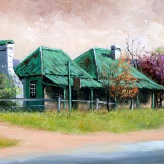 morpeth art gallery, hunter valley, newcastle, nsw, investment, fine, original, artwork, collector, artist, artists, investment, oil, palette knife, pallete knives, knife, gulgong, mudgee, bathrust, sofala, hill end, berrima, southern highlands, braidwood, vineyards, houses, to scale, australian art gifts, old bargong inn, hargraves, placemats, coasters, cinnamon, hale imports