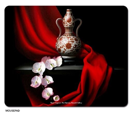 Pippa Chapman - Red Dynasty Microfibre Mouse Pad -