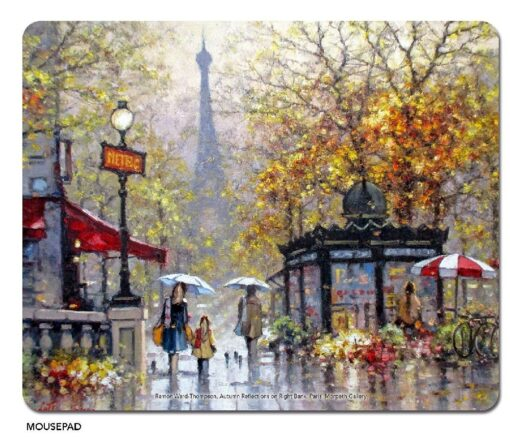 Ramon Ward-Thompson Autumn Reflections, Paris - Microfibre Mouse Pad -