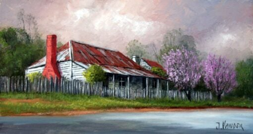 Spring At Levy's Store, Berrima -