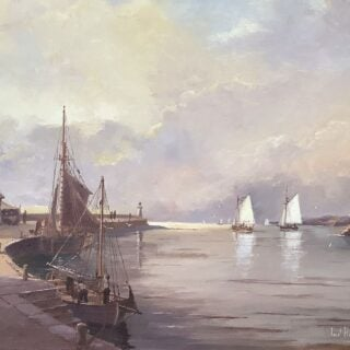morpeth art gallery, hunter valley, newcastle, nsw, investment art, fine art, original, artwork, collector, investment, artist, oil, watercolour, nautical, seascape, hmas cerebus, cerberus, stamp, australia post,barque, james craig, clippers, clipper, tea clipper, tea clippers,sir hubery wilkins. fritz, royal arts society, australian institute of history and art, society of marine artists, cape horn, james baines, ss loongana, ship, gladbrook, patrianc, sophocles, first fleet, port Jackson, leander, taeping, schooner, thermopylae, cutty sark, royal arts society, tranquil evening, marine, navy, australian navy, royal, australian art gifts