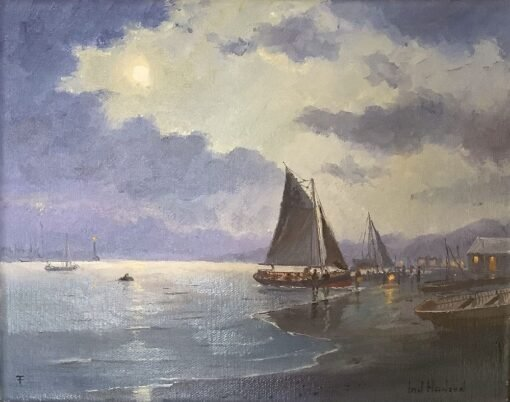 morpeth art gallery, hunter valley, newcastle, nsw, investment art, fine art, original, artwork, collector, investment, artist, oil, watercolour, nautical, seascape, hmas cerebus, cerberus, stamp, australia post,barque, james craig, clippers, clipper, tea clipper, tea clippers,sir hubery wilkins. fritz, royal arts society, australian institute of history and art, society of marine artists, cape horn, james baines, ss loongana, ship, gladbrook, patrianc, sophocles, first fleet, port Jackson, leander, taeping, schooner, thermopylae, cutty sark, royal arts society, unloading the catch, marine, navy, australian navy, royal, australian art gifts
