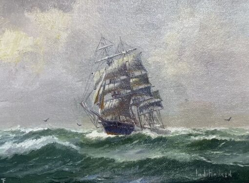 morpeth art gallery, hunter valley, newcastle, nsw, investment art, fine art, original, artwork, collector, investment, artist, oil, watercolour, nautical, seascape, hmas cerebus, cerberus, stamp, australia post,barque, james craig, clippers, clipper, tea clipper, tea clippers,sir hubery wilkins. fritz, royal arts society, australian institute of history and art, society of marine artists, cape horn, james baines, ss loongana, ship, gladbrook, patrianc, sophocles, first fleet, port Jackson, leander, taeping, schooner, thermopylae, cutty sark, royal arts society, ship gladbrook, marine, navy, australian navy, royal, australian art gifts