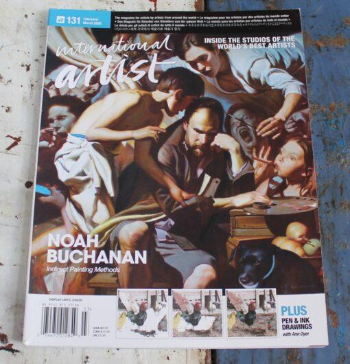 morpeth art gallery magazine international artist february march 2020 131 stephen jesic