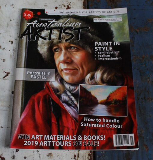 morpeth art gallery magazine australian artist november 2018 413 gordon hanley