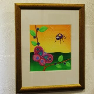 morpeth art gallery hunter valley natalie jane parker curly caterpillar bella butterfly original painting childrens book image