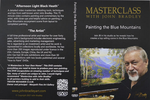 morpeth art gallery hunter valley john bradley DVD master class blue mountains oil painting how to paint