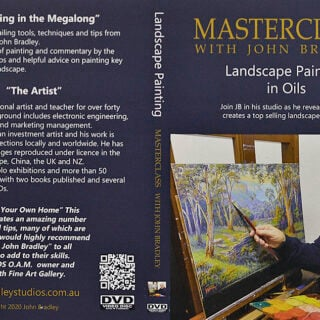 morpeth art gallery hunter valley john bradley DVD master class sets landscape painting scene oil painting how to paint