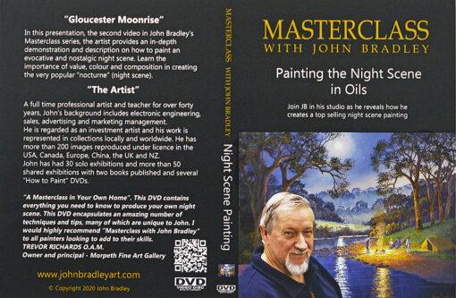 morpeth art gallery hunter valley john bradley profile picture for DVD master class sets night scene in oil