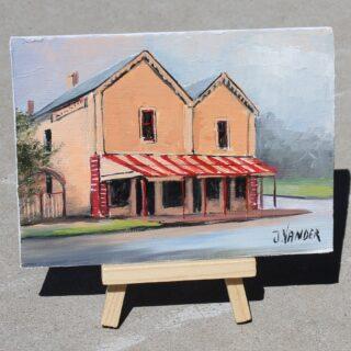 morpeth gallery hunter valley john vander morpeth bicentenary campbells store icon building heritage sandstone founded